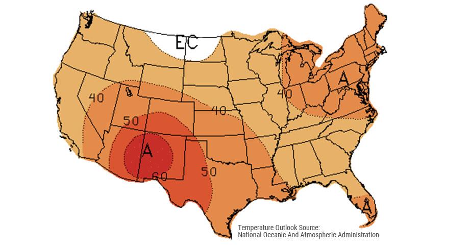 Energy Outlook Map