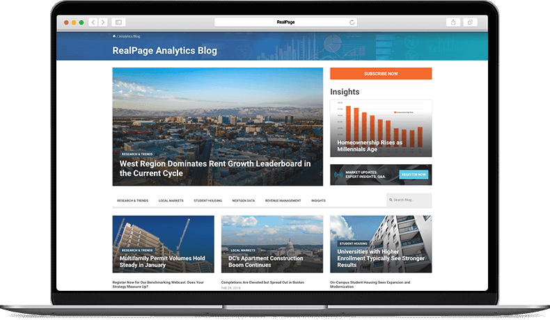 RealPage Analytics Blog