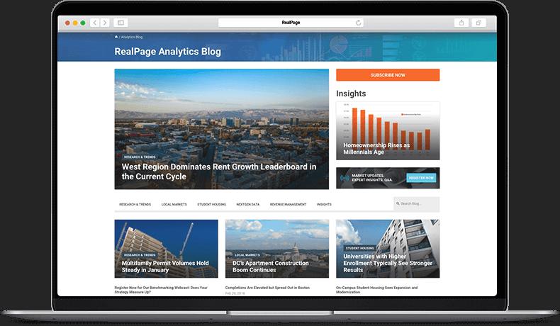 RealPage Analytics Blog