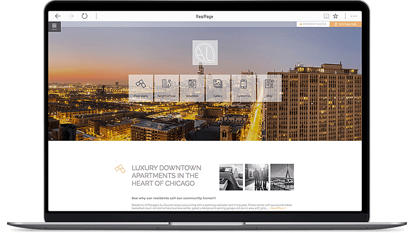 Apartment Website Design, SEO, Social Media & ILS | RealPage