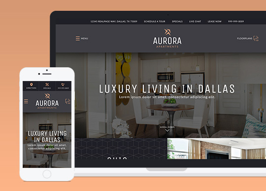 Apartment Website Design Property Apartment Website Templates That Perform And Convert  Realpage