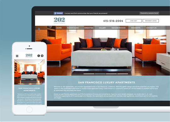 apartment website templates that perform and convert realpage