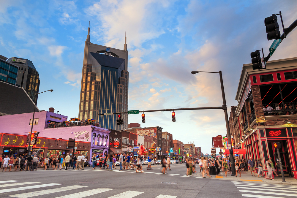 The Nation's 10 Busiest Submarkets For Construction: Central Nashville, Tennessee